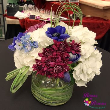 Hydrangea & Alstromeria Bowl