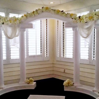 Arch Decor With Hydrangea