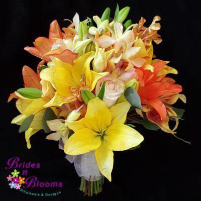Lily & Orchid Brides Bouquet