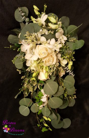 Greenery & Rose Bouquet