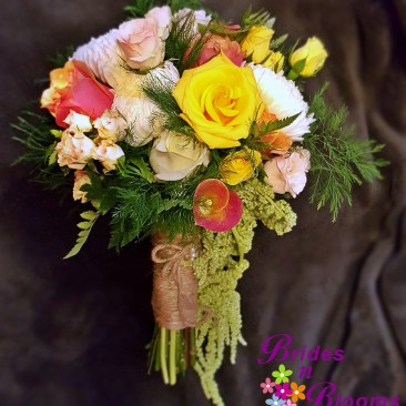 Rose & Amaranthus Bouquet