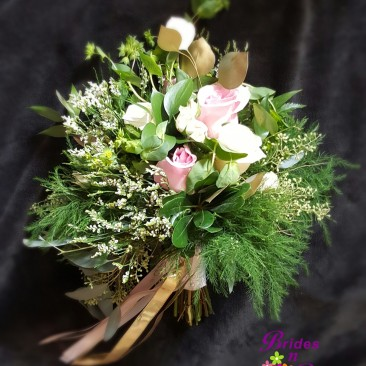 Greenery Brides Bouquet