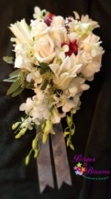 Standard Bouquet w/trailing Orchids