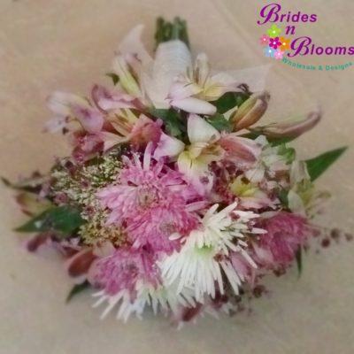 Alstromeria & Mum Bouquet