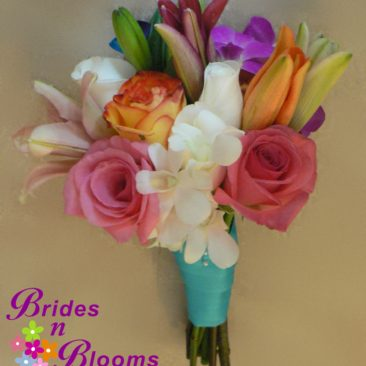 Brides N Blooms, Bridesmaid Bouquet