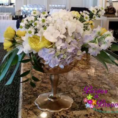 Brides N Blooms Designs, Pedestal Bowl Decor
