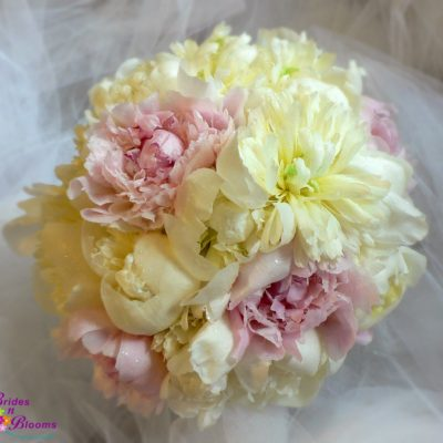Pink and White Peony Bouquet