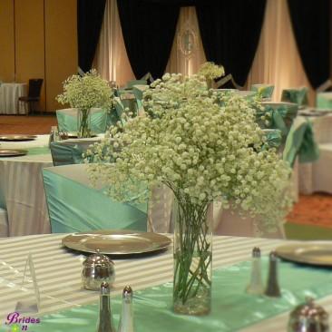 Brides N Blooms - Babies Breath Centepiece