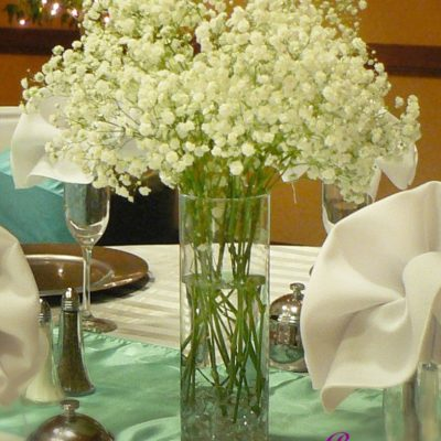 Brides N Blooms - Babies Breath Cylinder Design