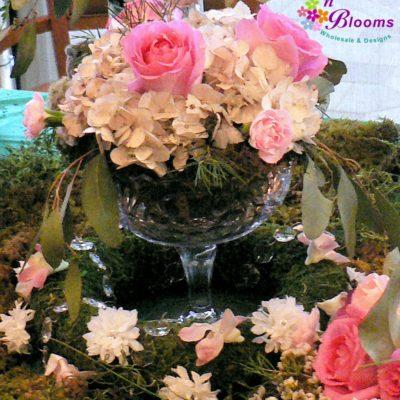 Hydrangea & Roses