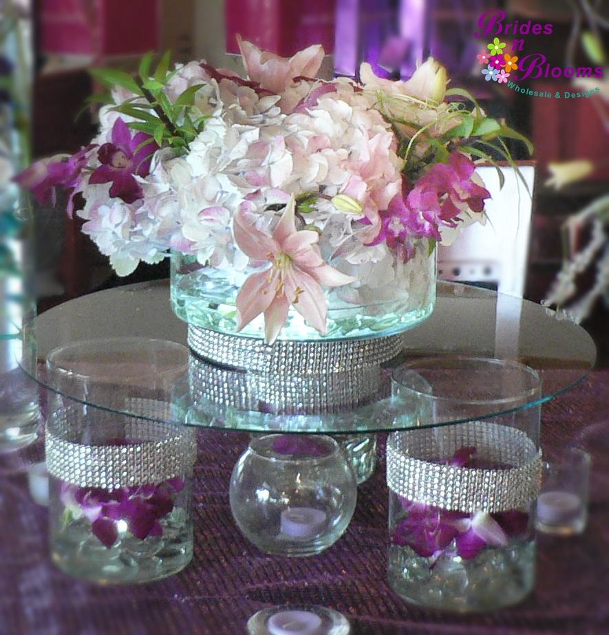 Flower arrangements brides n blooms designs raised glass table decor reviewsmspy