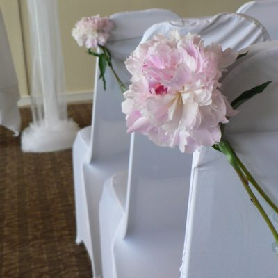 Peony Tie Backs for Chair