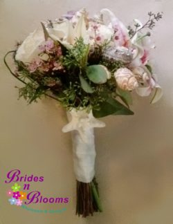 Brides N Blooms Design Starfish Wrap Bouquet bouquet