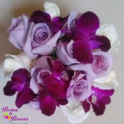 Brides N Blooms Designs lavender & white Bouquet