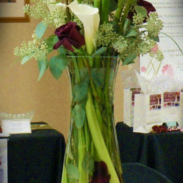 Rose & Calla Lily Arrangement