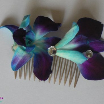 Brides N Blooms, Wholesale & Designs - Blue Orchid Boutoniere