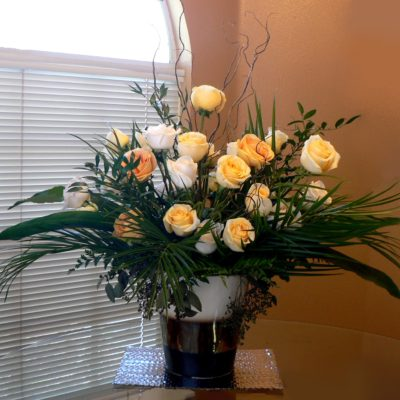 Rose Arrangement for Ceremony or Reception