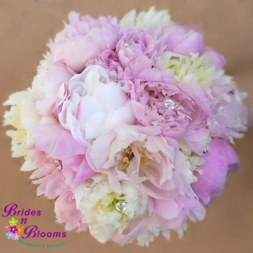 Brides N Blooms, Wholesale & Designs-Pink Peony Bouquet