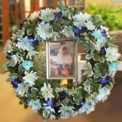 Brides N Blooms Designs - Memorial Wreath