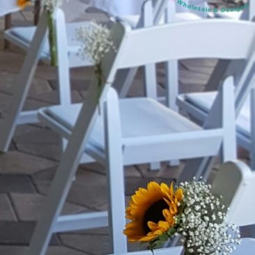 Sunflower Chair Ties