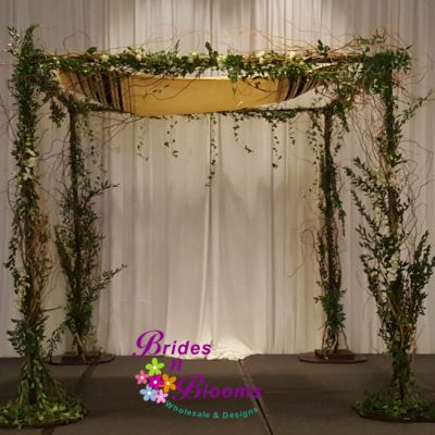 Greenery Chuppah Design