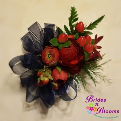 Red & Blue Corsage