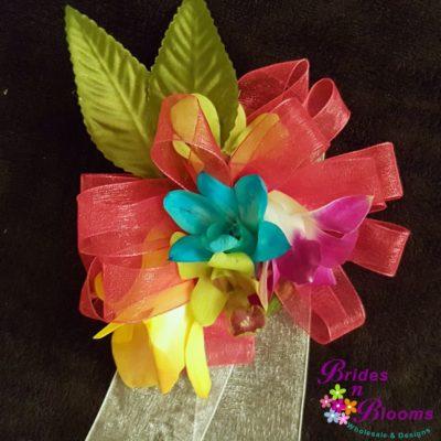 Flower Girl Wristlet