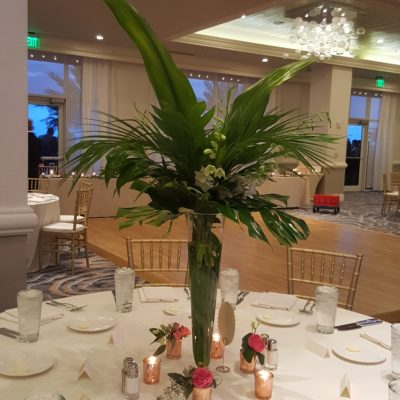 Tropical Greenery Vase