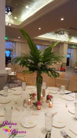 Tropical Greenery Vase