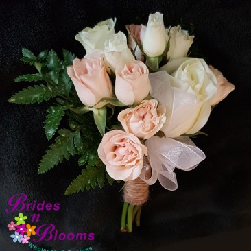 Pink Spray Rose Mini Bouquet