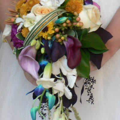 Small Cascade Bouquet Mixed Flowers