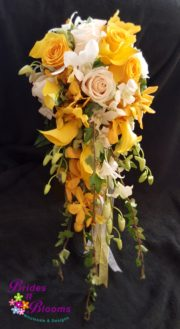 Yellow & White Cascade