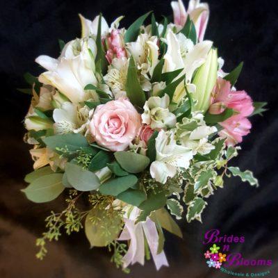 Lilies & Alstromeria Bridal Bouquet
