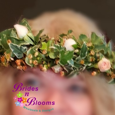 Floral Garland Headpiece