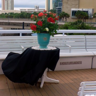 Brides N Blooms, Wholesale & Designs - Yacht Starship Deck Decor