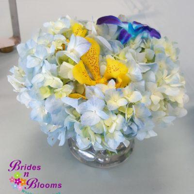 Hydrangea & Orchid Bowl