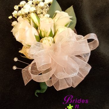 Spray Rose Pin Corsage