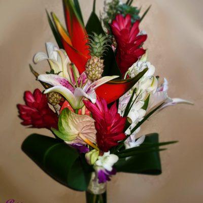 Tropical Flower Brides Bouquet
