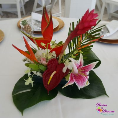 Tropical dish design