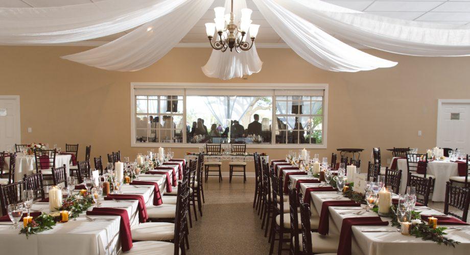 davis island garden club garland tables